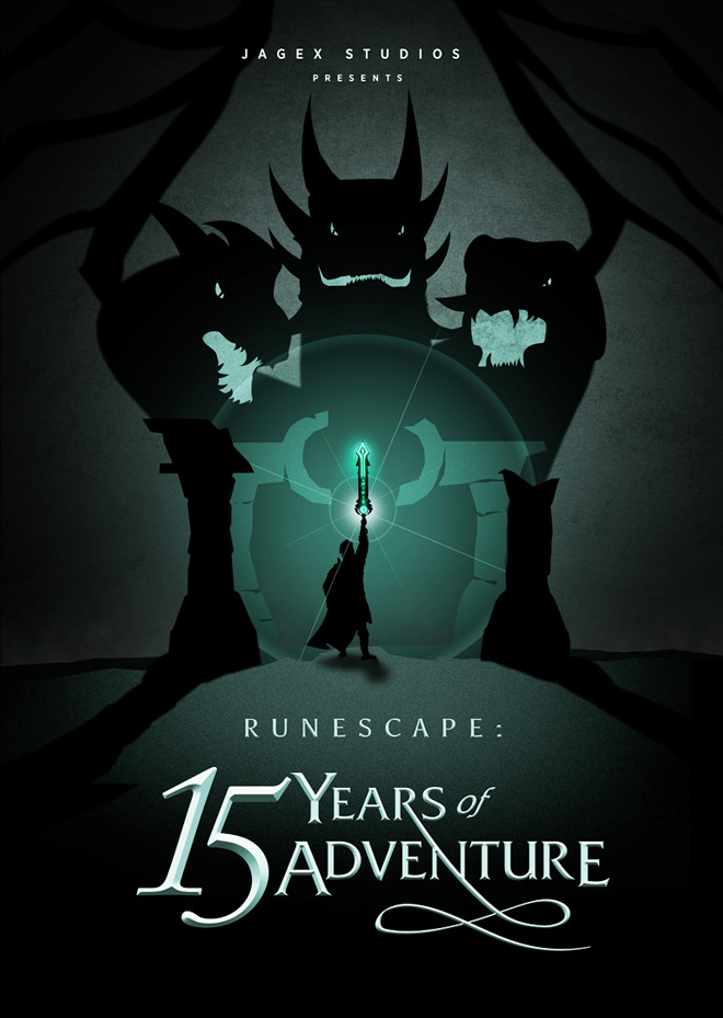 RuneScape: 15 Years of Adventure - Poster