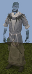 Ghostly druid outfit